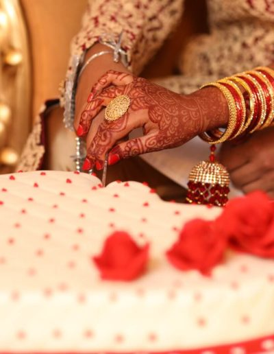 Zara & RajibWedding Cake