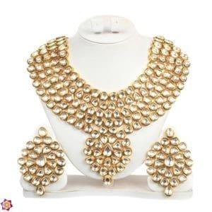 Golden Bronze Jewellery Set