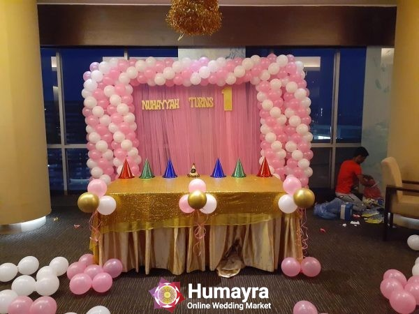 Birthday Stage Decorations 10