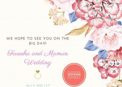 wedding invitation card (2)