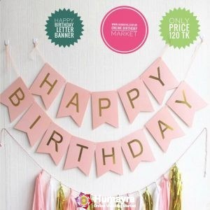 Happy Birthday Letter Banner