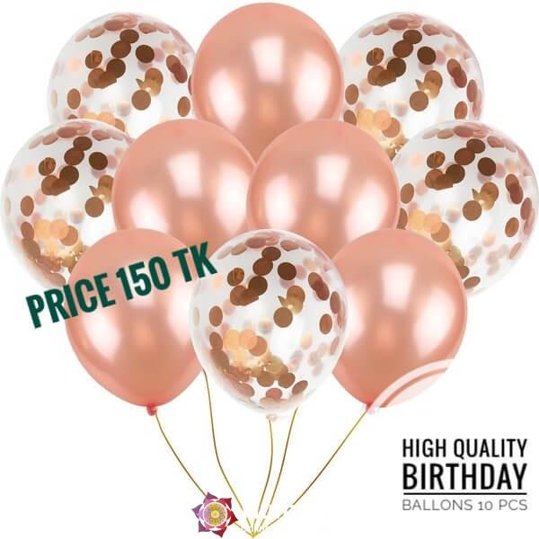High Quality Ballons 10 Pcs