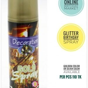 Decoration Gold Spray
