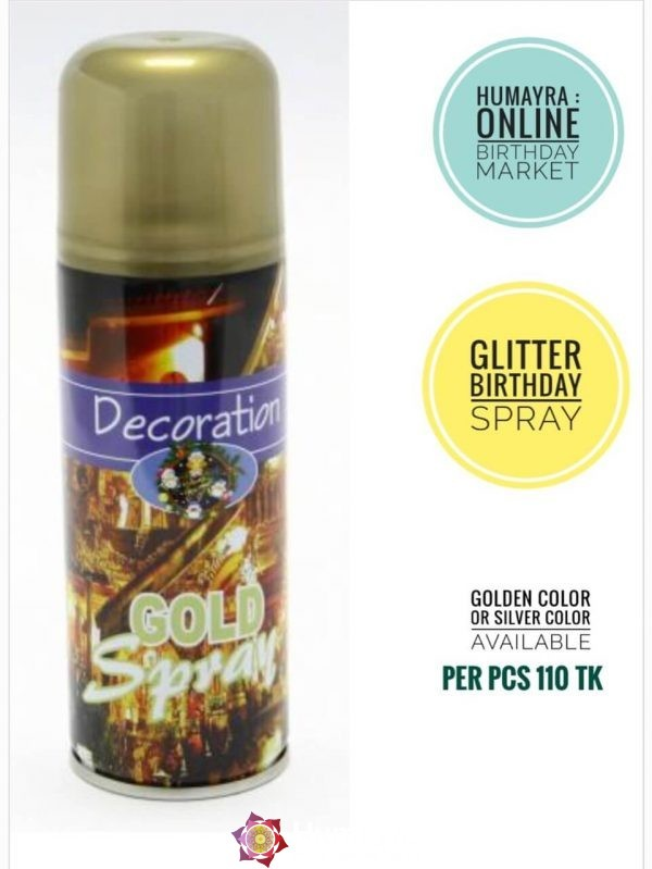Decoration Gold Spray