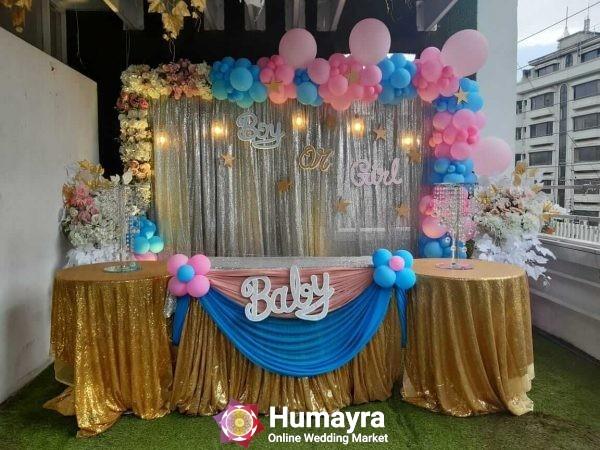Birthday Stage Decorations 13