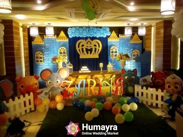 Birthday Stage Decorations 20