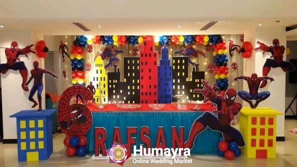 Birthday Stage Decorations 14