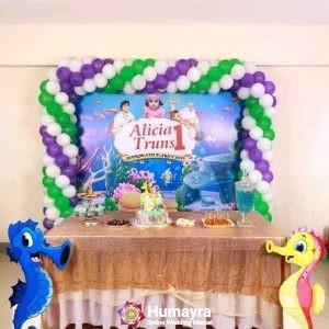 Birthday Stage Decorations 25