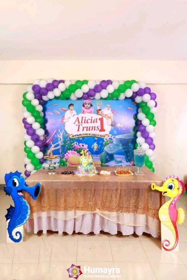 Birthday Stage Decorations 25
