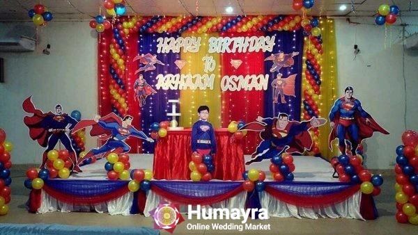 Birthday Stage Decorations 15