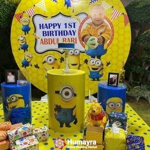 Birthday Stage Decorations 16