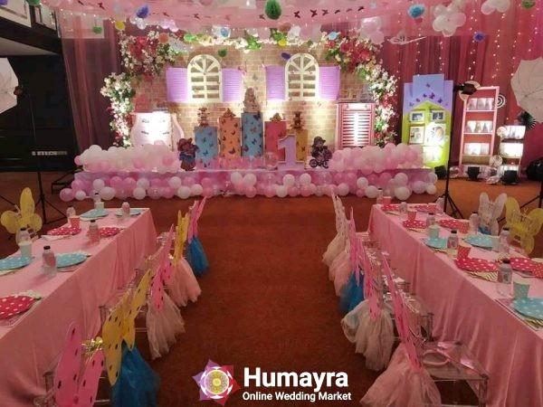 Birthday Stage Decorations 17