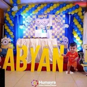 Birthday Stage Decorations 23