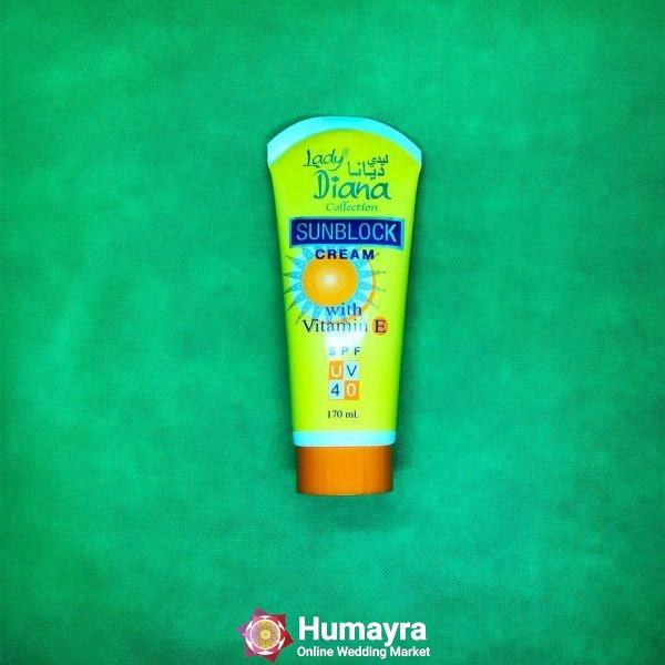Lady Diana Sunblock Cream price bd