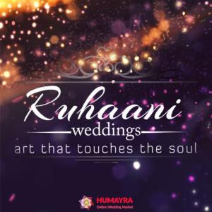 Ruhaani Wedding Ltd- Art Touches The Soul