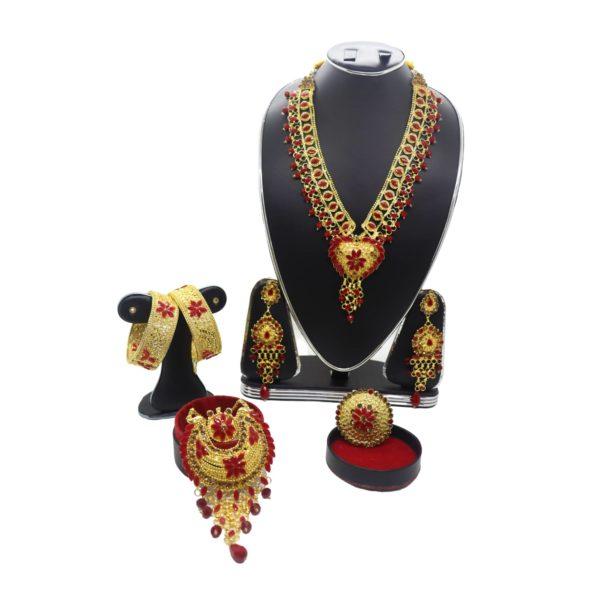 Wedding Jewelery Rent in Bangladesh set 4